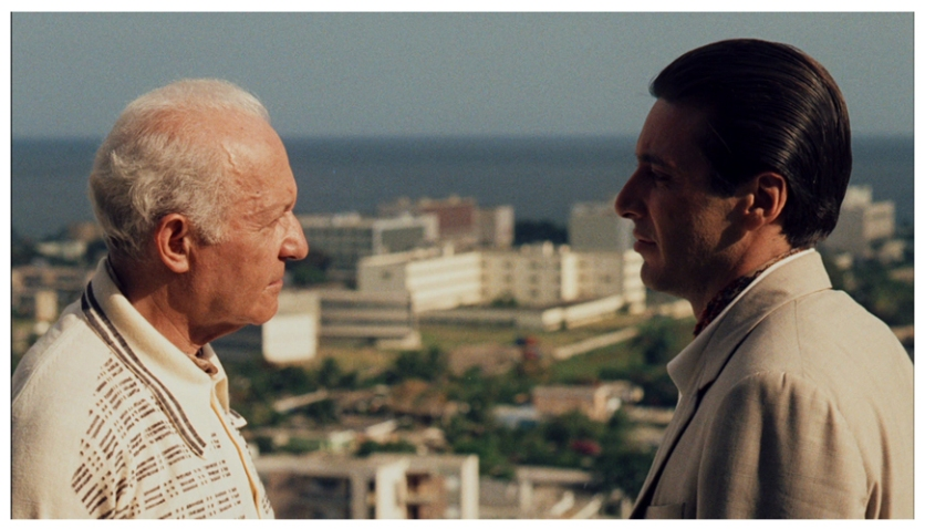Hyman Roth (Lee Strasberg) and Michael Corleone (Al Pacino) © BFI