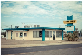'Rubee's Diner' (2012) © Justin Welch / Brick Lane Gallery