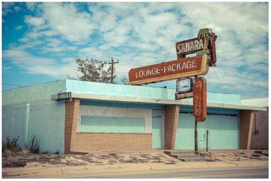 'Sahara Lounge' (2012) © Justin Welch / Brick Lane Gallery