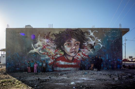 Mural © Herakut
