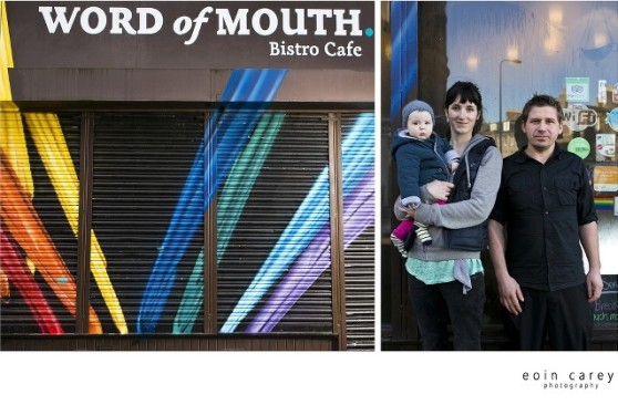 Word of Mouth Café Shutter by Fraser Gray © Eoin Carey / LeithLate