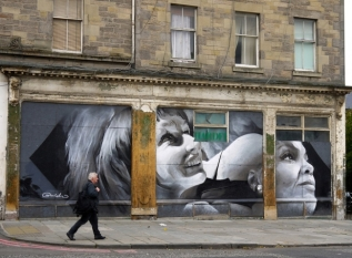 Leith Walk Mural by Guido van Helten © EdinburghSpotlight.com