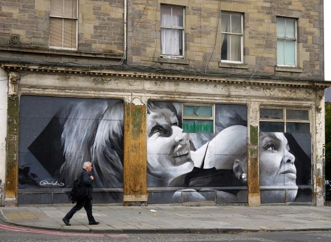 Leith Walk Mural by Guido van Helten © EdinburghSpotlight.com