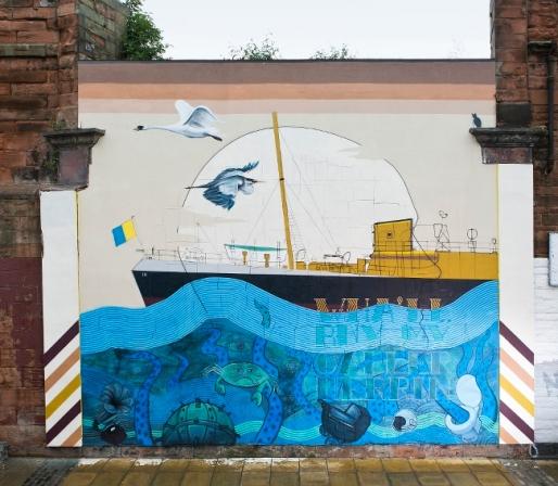 'The Leith Aquatic' by Blameless Collective © Eoin Carey / Leith Late