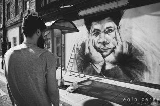 Russell Dempster, Henderson Street Mural © Eoin Carey / LeithLate
