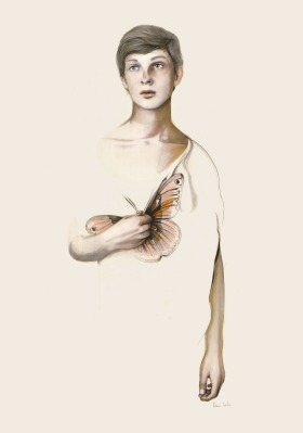 Butterfly Boy (Metamorphoses Series) © Kareena Zerefos