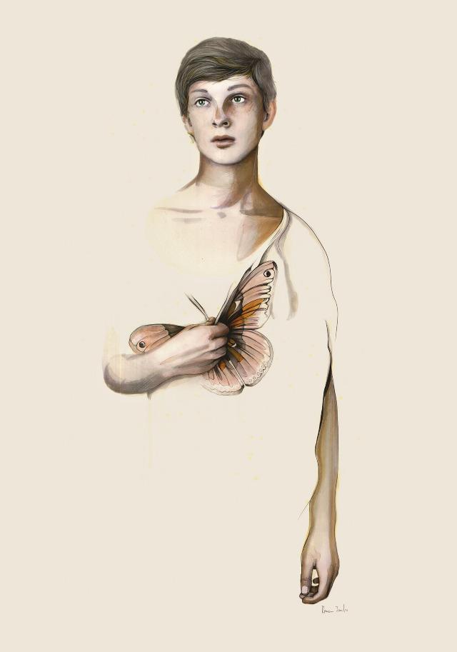 Butterfly Boy (Metamorphoses Series) © Kareena Zerefos