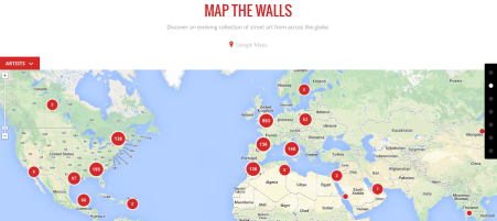 Map The Walls © Google Cultural Institute