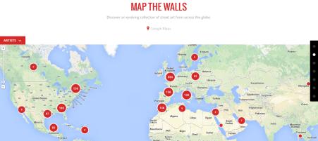 Map The Walls © Google Cultural Institute