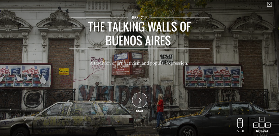 The Talking Walls of Buenos Aires © Google Cultural Institute