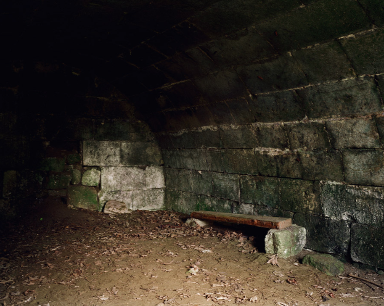 Bunker (Holding Cell), Vingré, Picardie © Chloe Dewe Mathews