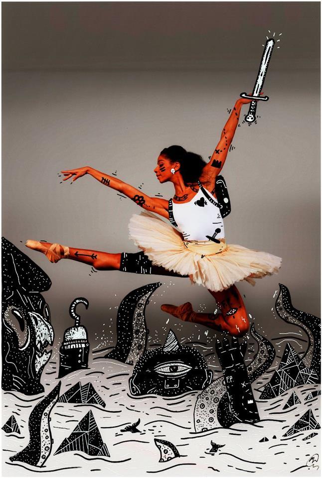 © Joel Millerchip x Mark Salmon (Dancer: Celine Gittens)