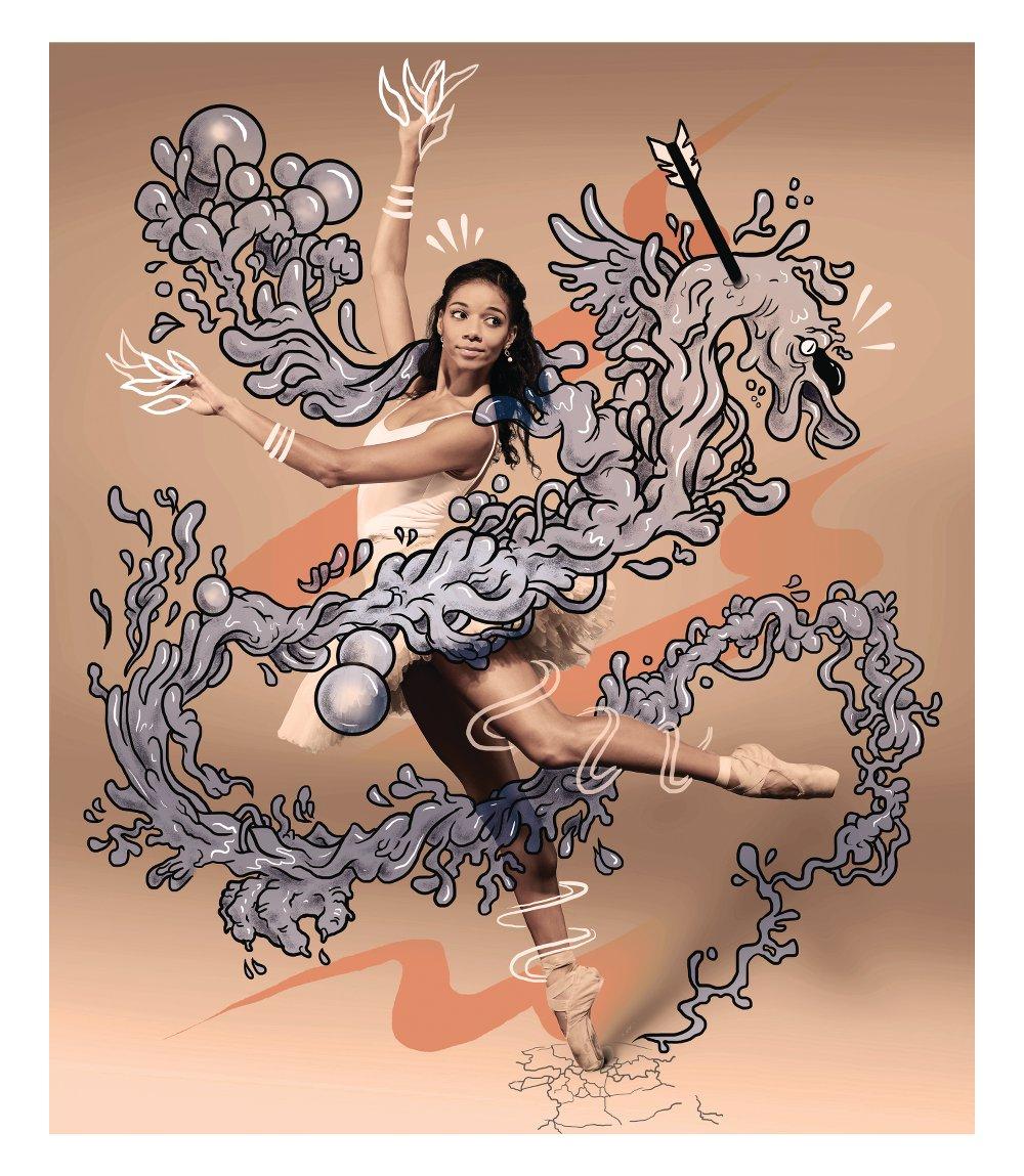 © Trou x Mark Salmon (Dancer: Celine Gittens)