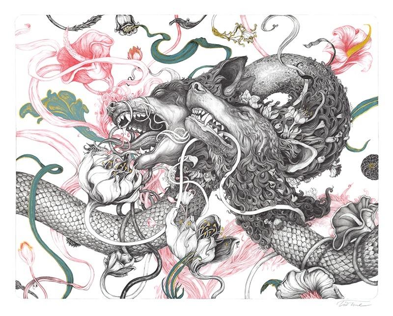 Wolf-Serpent © Tim Lane