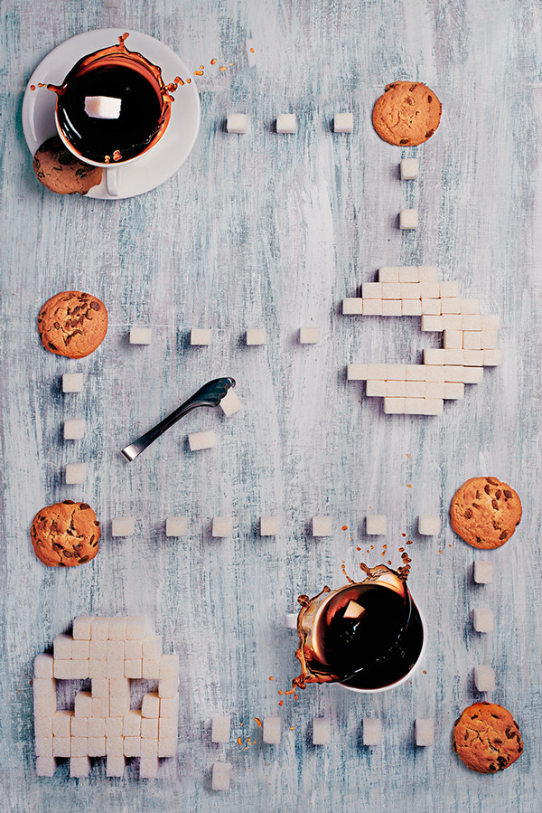 8-bit teatime 2.0 © Dina Belenko