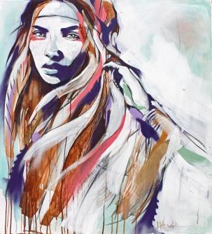 Wolf Drawn © Hannah Adamaszek