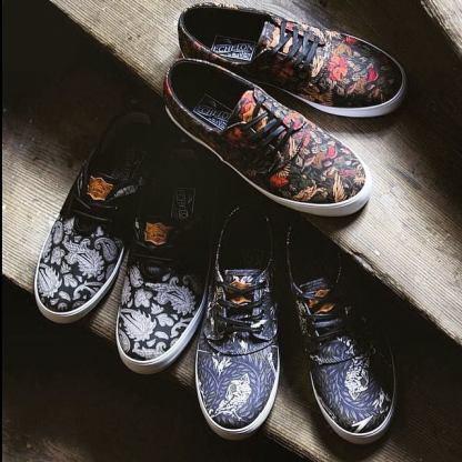 Lakai LTD shoes x swanski © Swanski