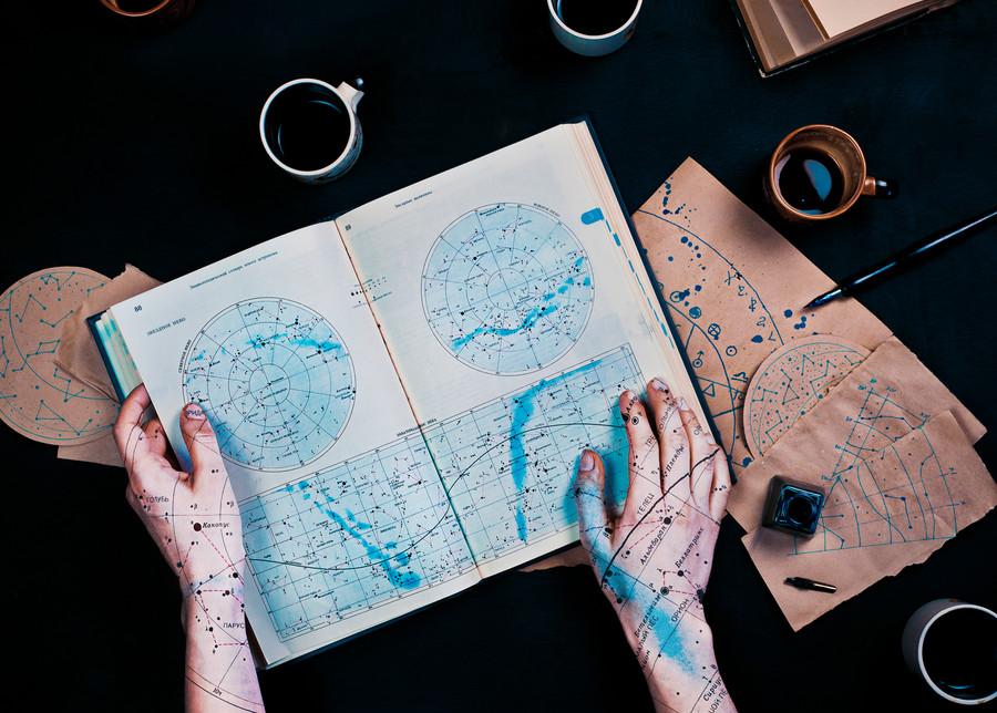 Map-marked Stars © Dina Belenko