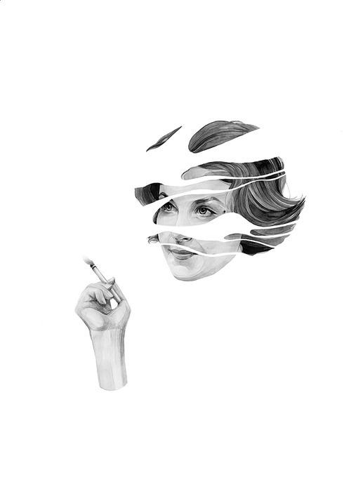 Audrey Horne, Twin Peaks © Kate Copeland