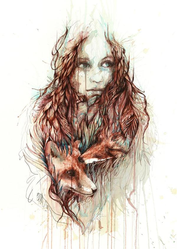 Comfort © Carne Griffiths