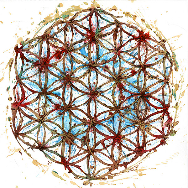 The Flower of Life © Carne Griffiths