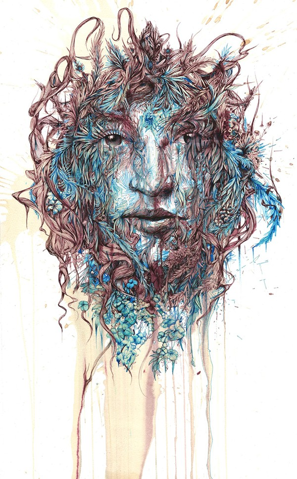 The Secret Garden © Carne Griffiths