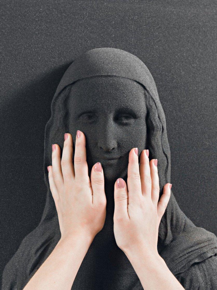 Mona Lisa 3D replica #2 © Unseen Art