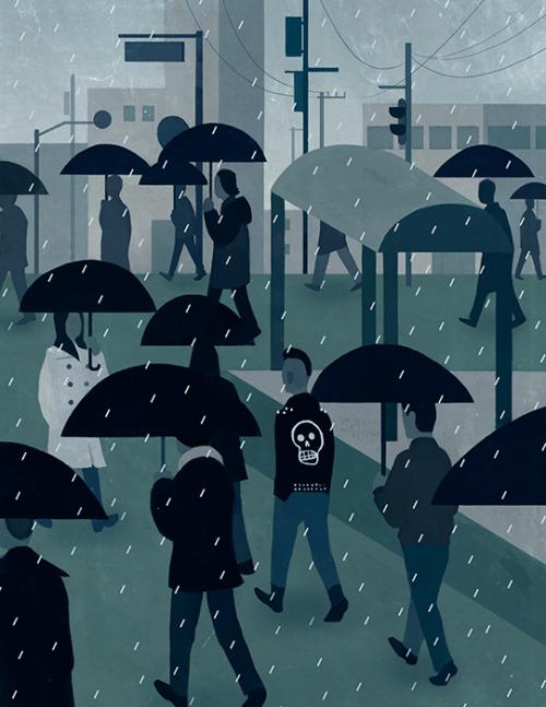 Illustration Friday: Skull © Mark Boardman