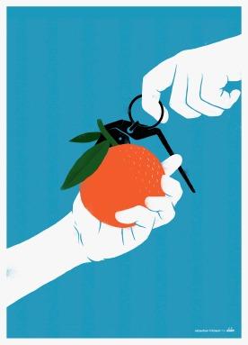 Tangerines © Sébastien Thibault for Delve