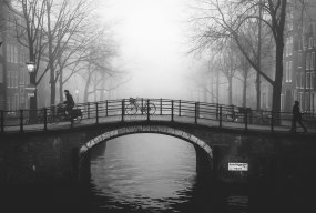 Fog on Canal © Rolling Spoke / Gus Kovac